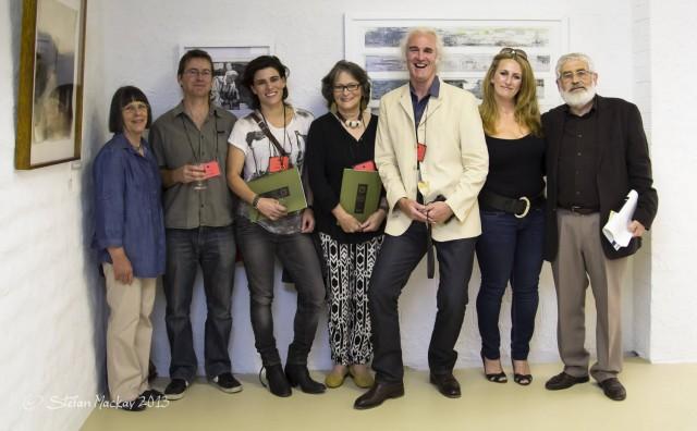 A few of the Kedumba Drawing Award winners in 2013
