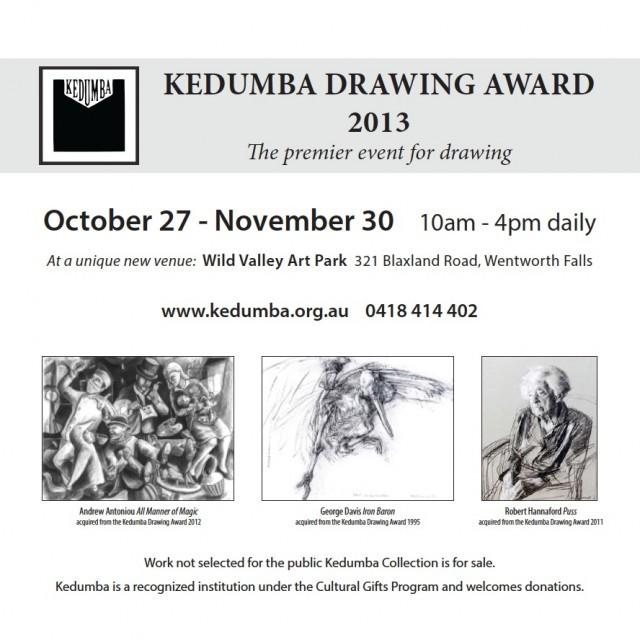 2013 Kedumba Drawing Awards Brochure