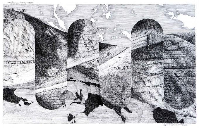 Bert Flugelman - Australian Landscape