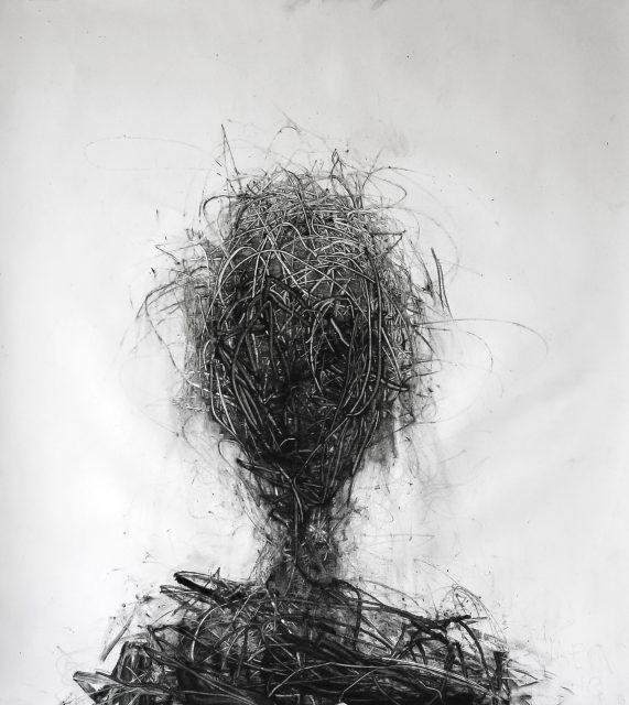 John Forrester Clack Head (Amen drawing)
