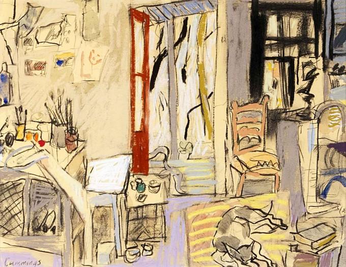 Elisabeth Cummings - Studio Interior