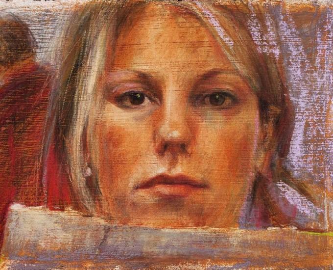 Dagmar Cyrulla - self portrait